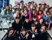 Sunset High School Visit