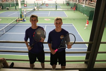 Casey Henrickson and Isaiah Polich at State