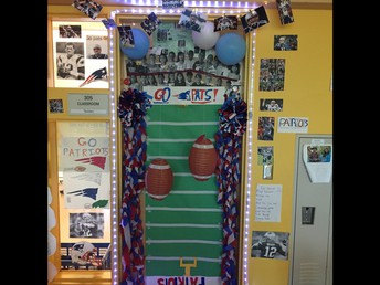 Our schoolwide door decorating contest was fun for everyone!