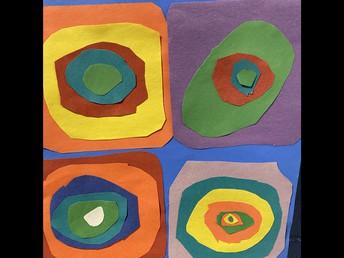 3G is creating Kandinsky artwork!