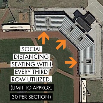 Baseball Seating: Bleachers