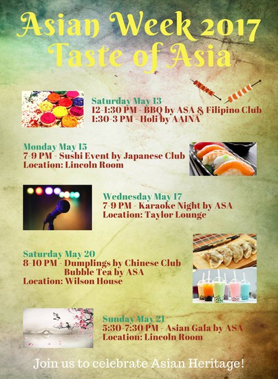 Asian Week 2017
