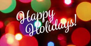 Happy Holidays, HMS Families