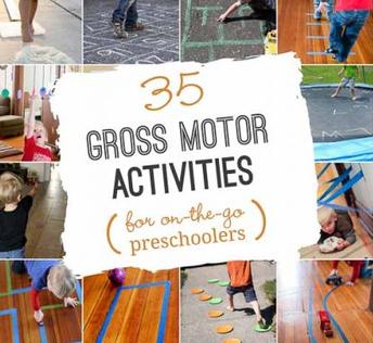 Outdoor Gross Motor Activities