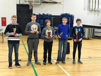 7th Grade Division Winners