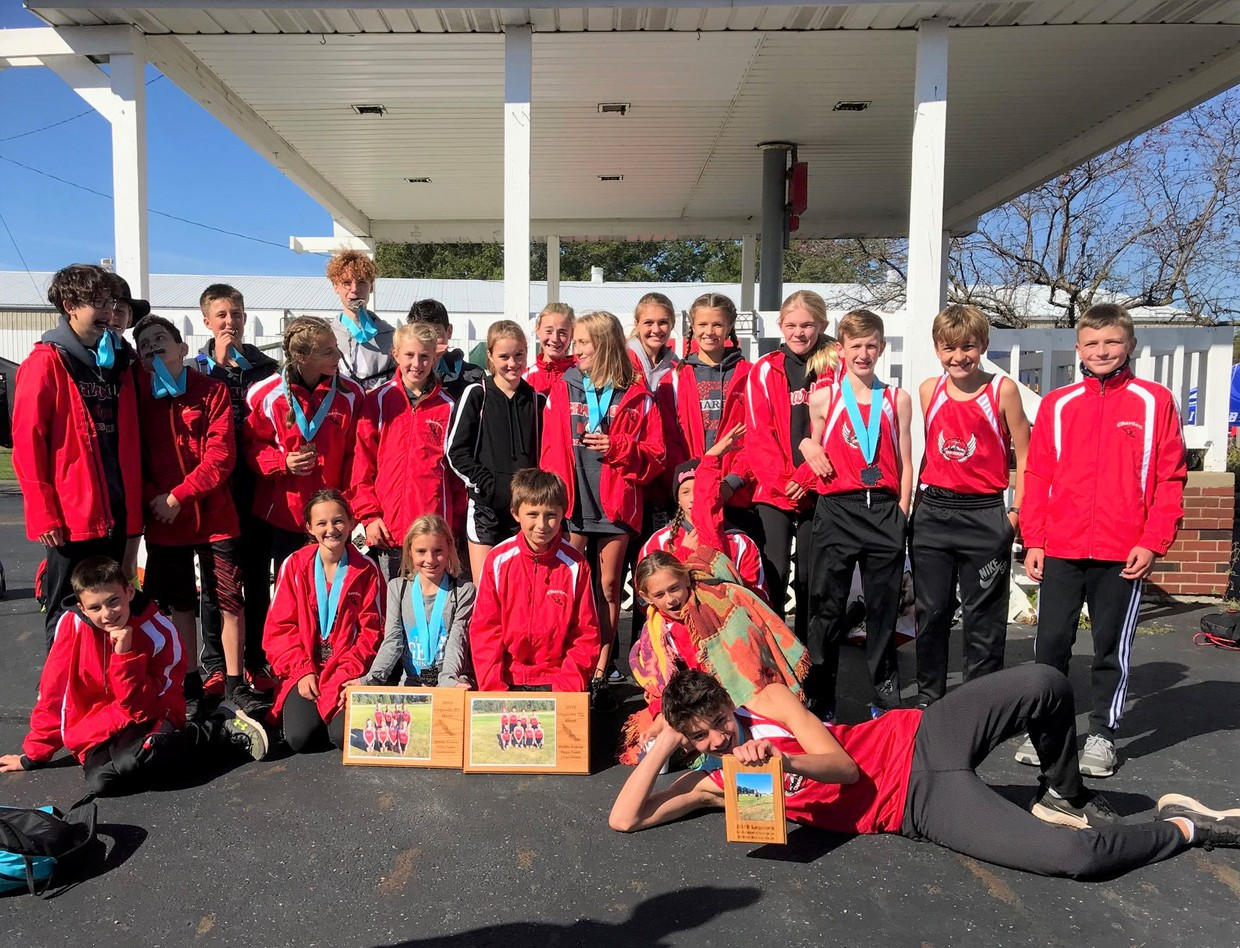 Congratulations CMS Girls & Boys Cross Country Teams on your Legends Championship!