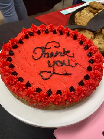 STUDENT HOSTED STAFF APPRECIATION LUNCH ON MAY 13TH