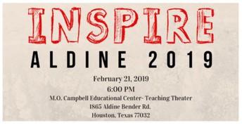 INSPIRE Aldine 2019