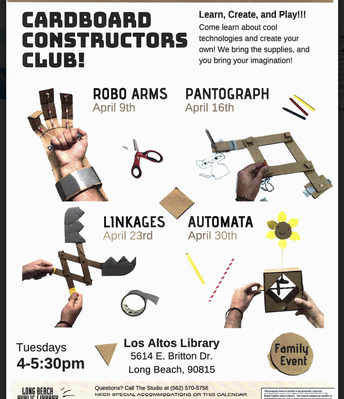 Cardboard Constructors Club @ Los Altos Library