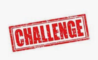 We Challenge You