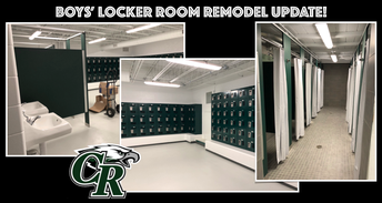 New Boys' Locker Room