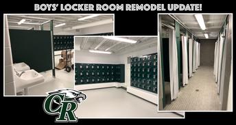 New Boys' Locker Room