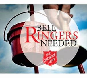 Seasonal Bellringer Help Wanted!!