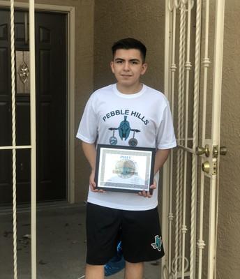 Gabriel Montes-10th Grade