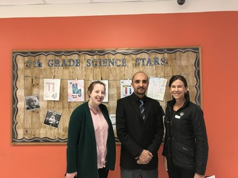County Commissioner Visits MSE