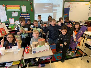 NE 1st Graders Make Music - in Science Class!