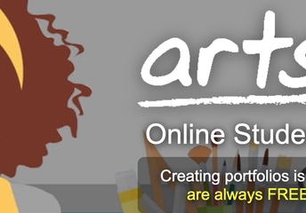Artsonia website
