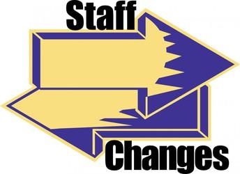 Staff Changes