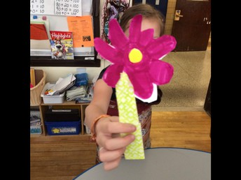 Flower with Paper & Tape