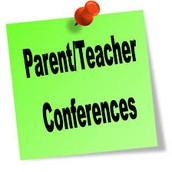 Parent-Teacher Conferences are Tuesday Evening, 5-8 PM