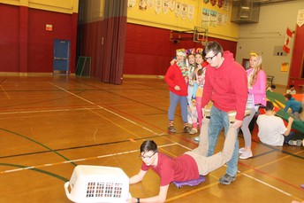 Day 1 - Kindergarden games - Hungry Hungry Hippo
