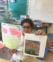 Art inspired by impressionism