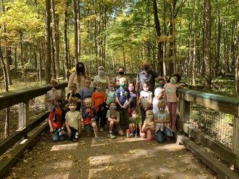 Mr. Baldock's Field Trip to Ritchey Woods
