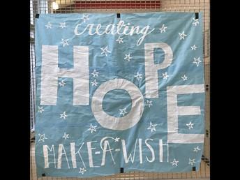 Make-A-Wish signs