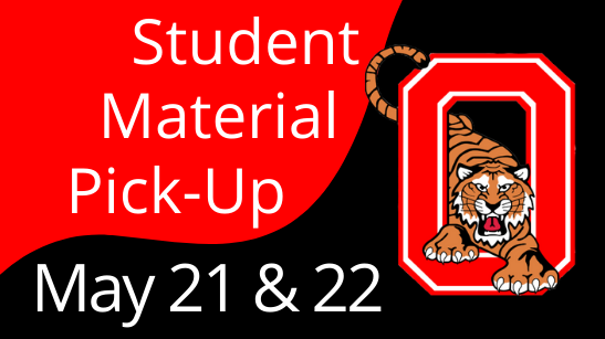 Material pick up graphic
