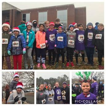 The Reindeer Run was a SUCCESS!
