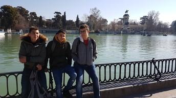 Parque de El Retiro.
