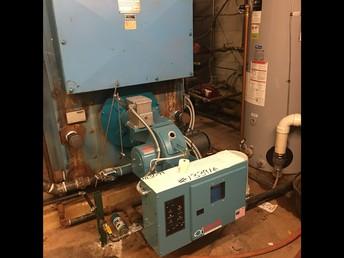 West Campus Boiler following repairs