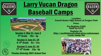 Dragon Baseball Camp
