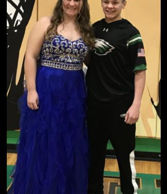 Freshman Prince/Princess Candidates Juli Lowe & Garrett Dombrowski