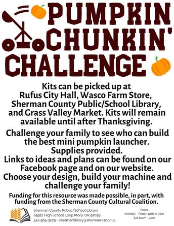 Pumpkin' Chunkin' Challenge