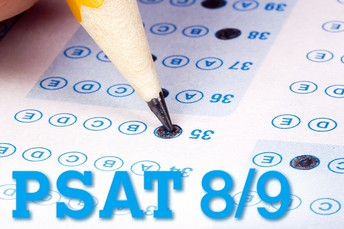 PSAT 8/9 for Eighth Grade Only!  Wednesday, October 14, 2020