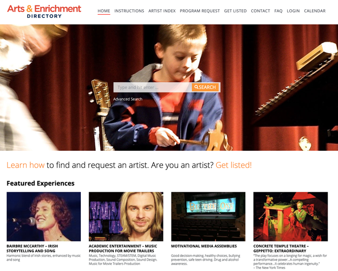 Arts and Enrichment Directory