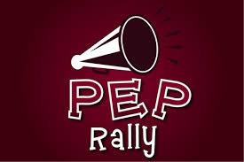 Pep Rally on Wednesday