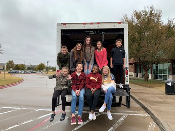 STUCO stuffs the bus with donations