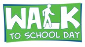 October 4th is WALK TO SCHOOL DAY!