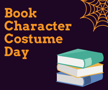Halloween Book Character Costume Day