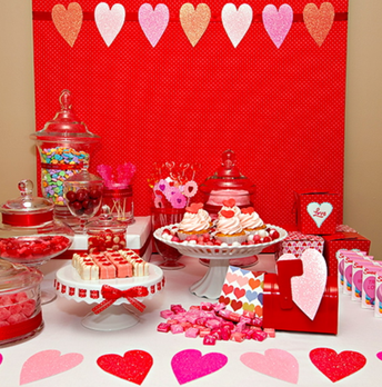 Bar de postres de San Valentín - 13 de febrero