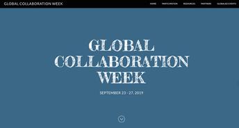 Global Collaboration Week (September 23-27, 2019)