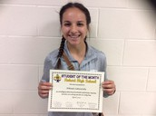 Junior Student of the Month: Mikayla Zakutansky