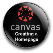 Earn a Digital Badge and 2 PGP Points For Creating a Canvas Homepage