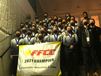 Indoor Percussion FFCC State Champs!
