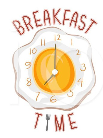 Breakfast served from 7:45-8:00