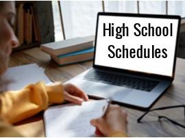 High School 9-12 Grades Schedule
