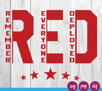 R.E.D.--Remember Everyone Deployed Day