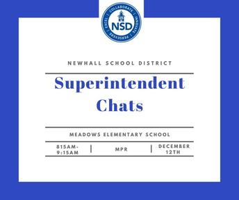 Superintendent Chat on 12/12 at 8:05am